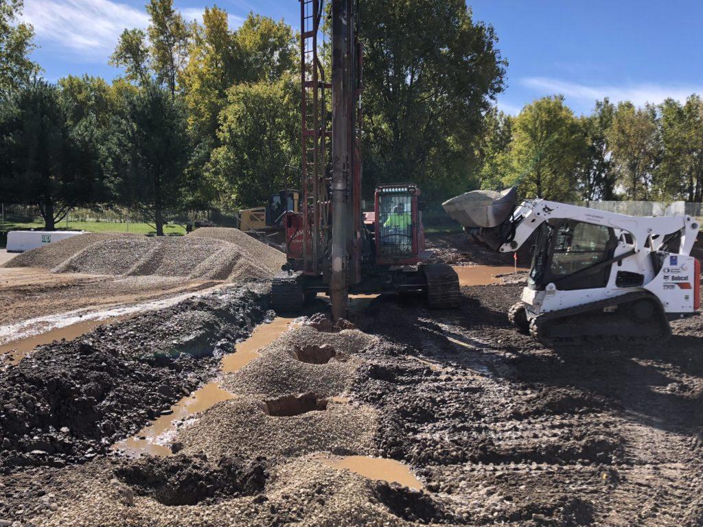 Castle Elementary School ground improvement